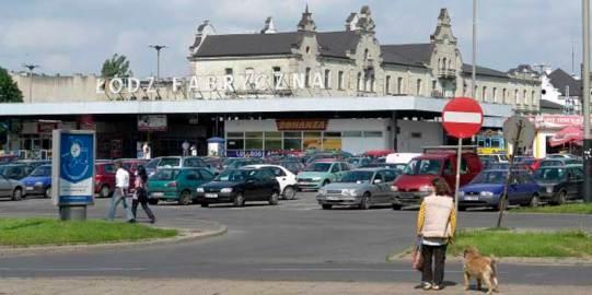 Dworzec Łódź Fabryczna tak wyglądał jeszcze niedawno (fot. gromod - garnek.pl)