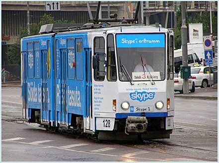 Tramwaj w Tallinie - tym można już jeździć bezpłatnie (fot. jkb - wikipedia)