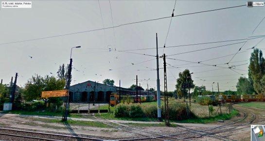 Zajezdnia tramwajowa na Helenówku (fot. GSV/Nacho)