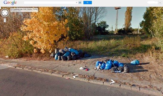 ulica Telefoniczna na Stokach (fot. GSV/Nacho)