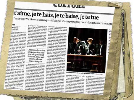"""""""Le Monde"""" o Warlikowskim pisze z entuzjazmem (fot. Nacho)"""