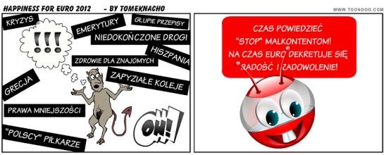 dekret o radości powszechnej na czas Euro 2012