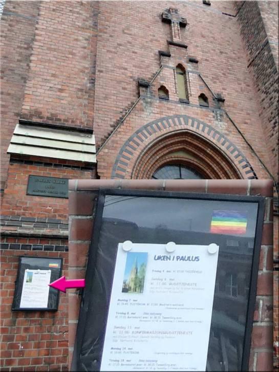 Kościół Pawła w Oslo (Paulus Kirke) - fot. Nacho
