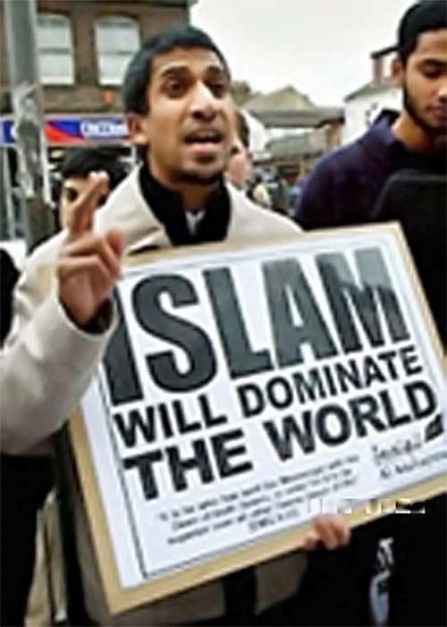 Islam zdominuje świat (fot. Fillmore Gazette)