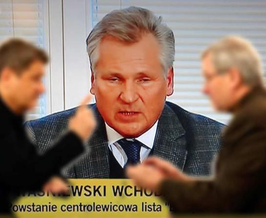 Aleksander Kwaśniewski ponownie w polskiej polityce (fot. Nacho)