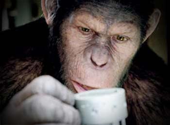 Zdj. z filmu Geneza planety małp